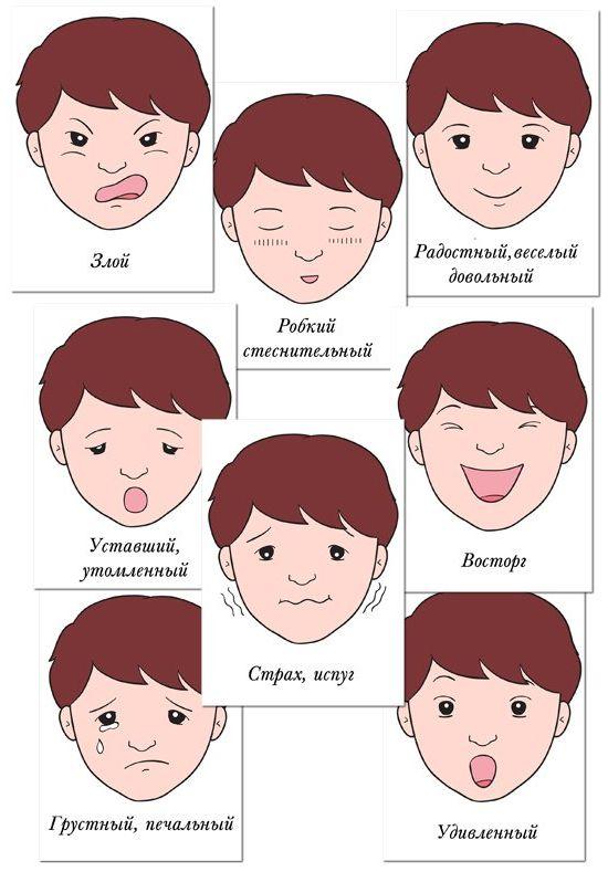 Эмоции смайлики картинки для детей » Скачать лучшие ...