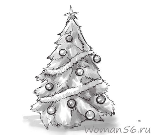 Новогодние рисунки красивые » Скачать лучшие картинки ...