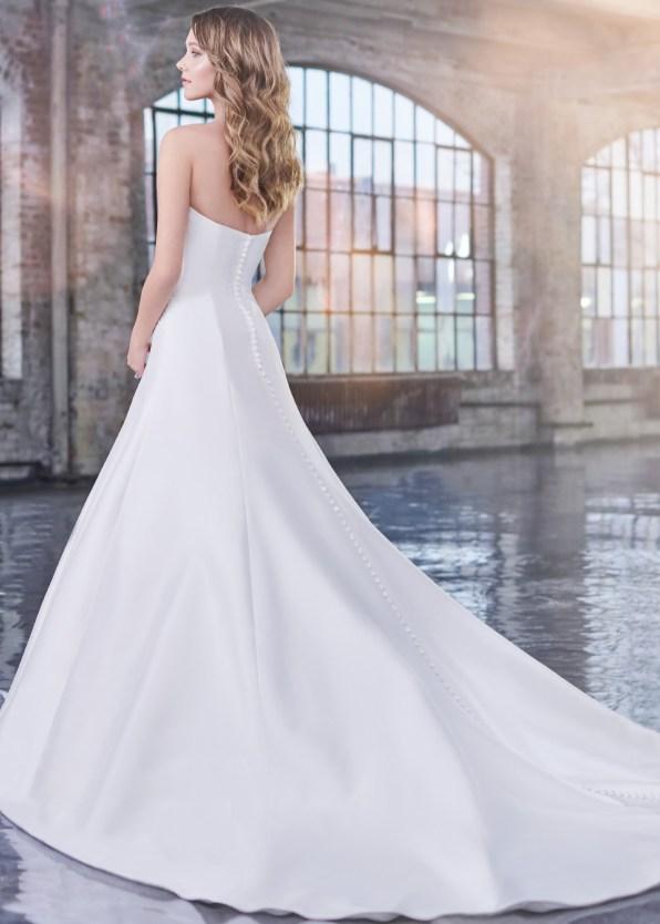 designer wedding dress bridal gown prima donna bridal norwich Martin thornburg