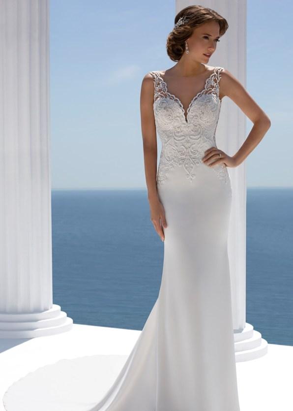designer wedding dress bridal gown prima donna bridal norwich Mark Lesley