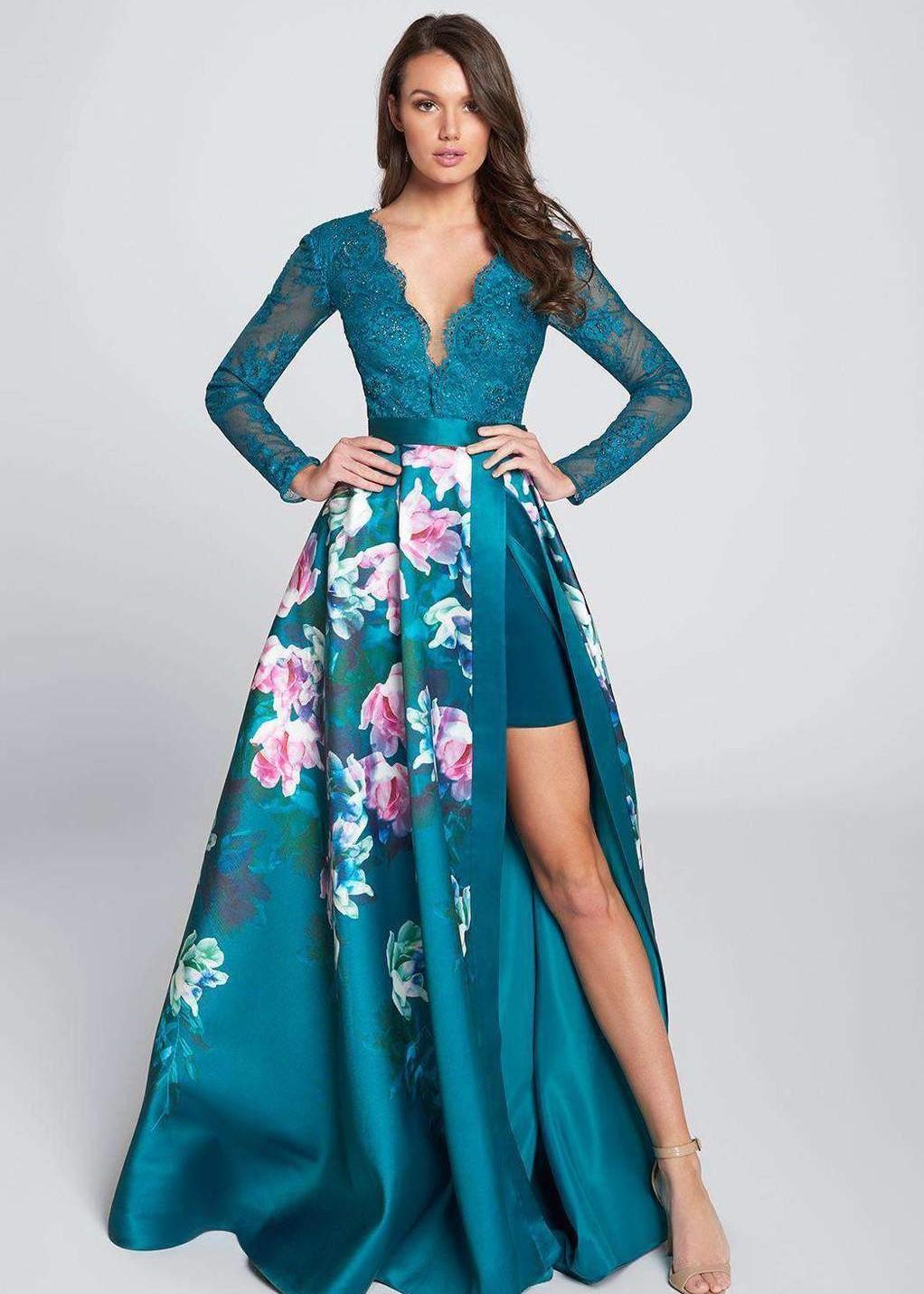 Ellie Wilde prom dress prima donna bridal EW21747
