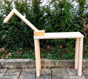 Holzgestell