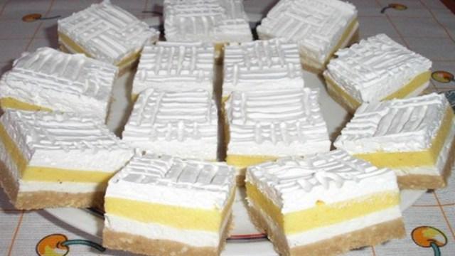 Recept na smetanový dort s vanilkovým pudinkem