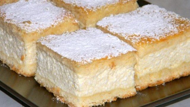 Fantastický krémový dezert se smetanou