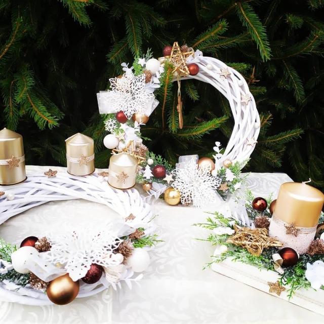 Krásná dekorace na Vánoce
