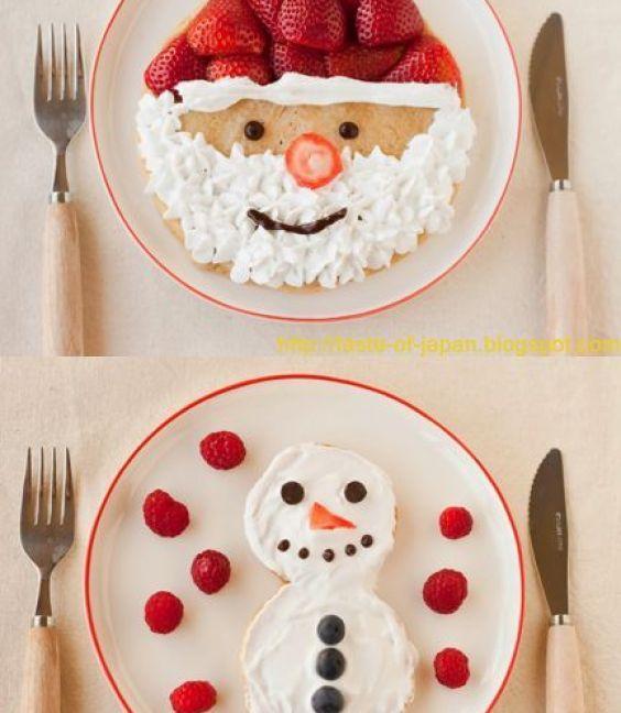 Inspirace na vánoční talíř