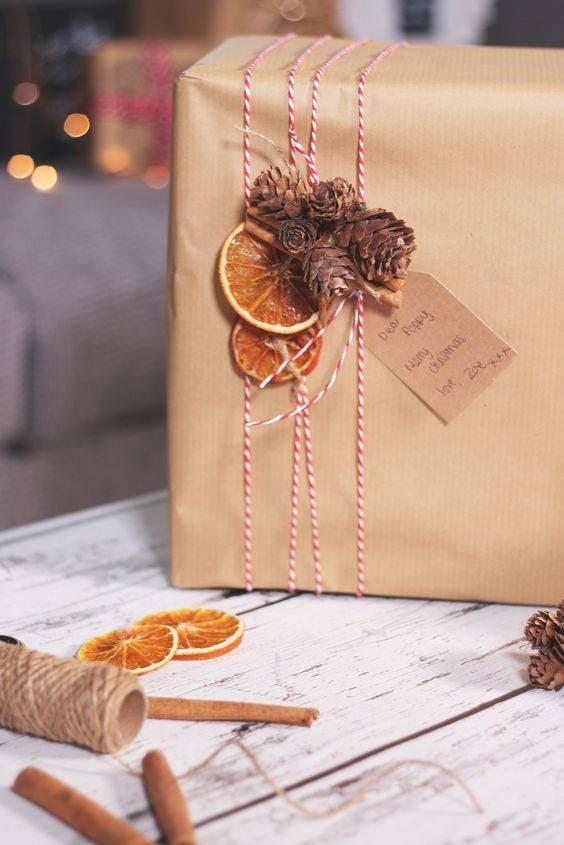 Nápady na zdobení vánočních dárků