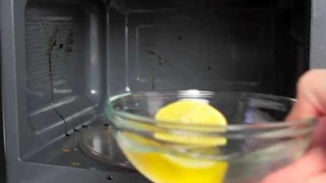 Citron k vyčištění trouby