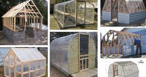 Inspirace na zahradní skleníky