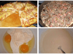 Recept na domácí pizzu na pánvi