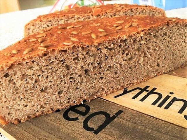 Recept na domácí chléb ze špaldové hladké mouky
