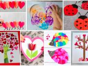 Skvělé nápady na valentýnské tvoření pro děti plné barev a lásky!