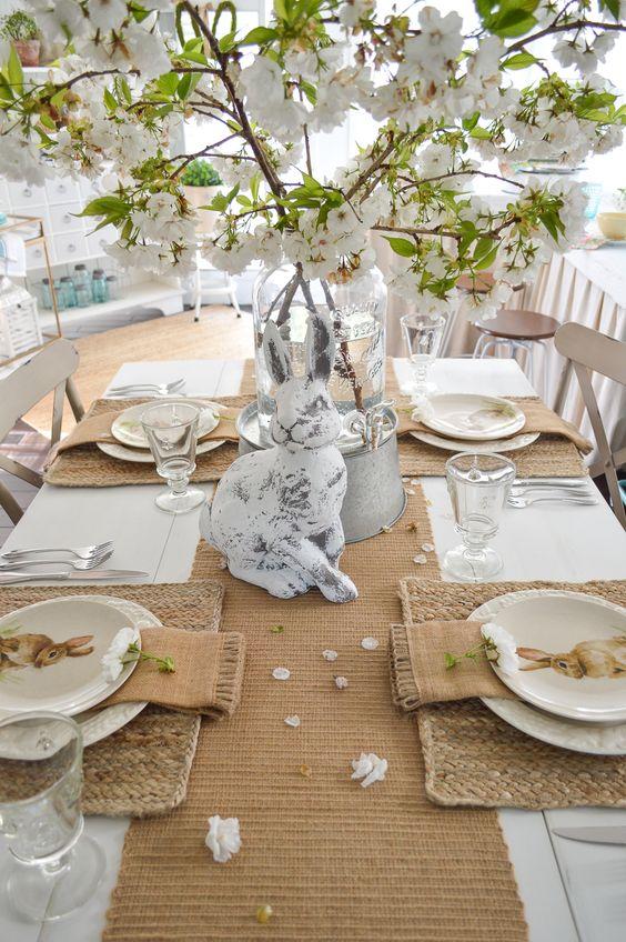 Inspirace na sváteční prostírání stolu
