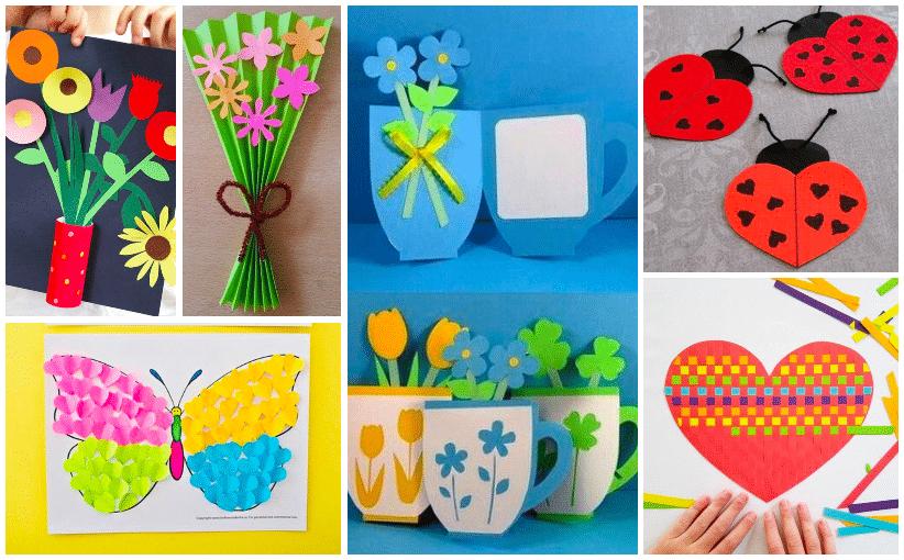 Jarní tvoření s dětmi inspirované březnovým svátkem MDŽ!