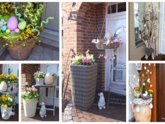 Jarní výzdoba vchodových dveří: 30+ krásných nápadů