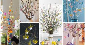 Zdobené větvičky, které dodají vašemu domovu tu pravou jarní atmosféru!