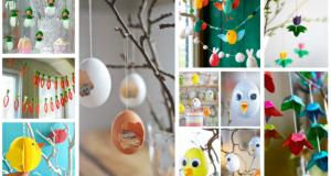 Inspirace na krásné závěsné dekorace na jarní měsíce: 25+ inspirací