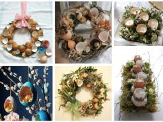 Využijte obyčejné vaječné skořápky k výrobě velikonoční dekorace