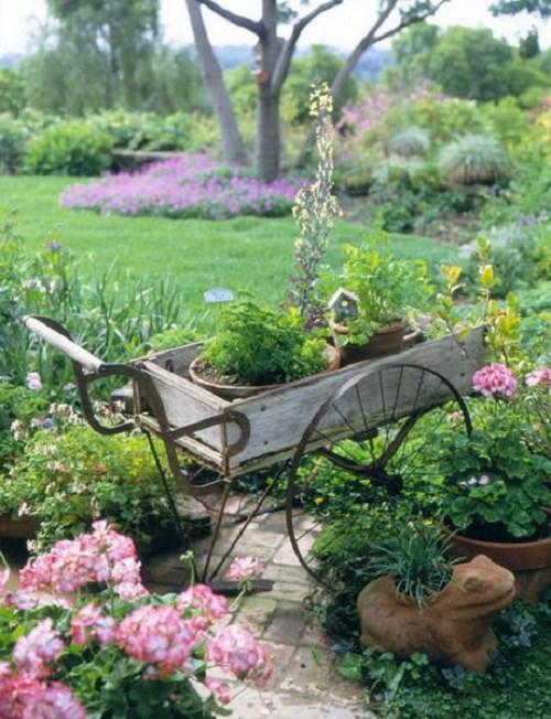 Inspirace na překrásné venkovní dekorace