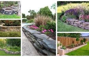 Vyvýšené záhony z kamení: 25+ Inspirací na vylepšení každé zahrady