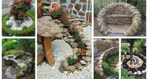 Máte na zahradě množství kamení? Tohle jsou nápady na jeho využití