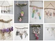 Jednoduché dekorace, které si můžete pověsit - Základem je obyčejná větev!