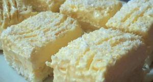 Fantastický kokosový dezert s vanilkovým krémem - Prima inspirace