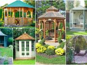 Inspirace na úchvatné altánky: Ozdobné prvky zahrady a místo k relaxaci!
