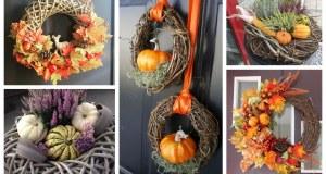 Máte doma obyčejný proutěný kruh? Proměňte ho v krásnou podzimní dekoraci