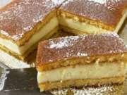 vanilkové řezy s citrónovou glazurou – všichni chtějí recept