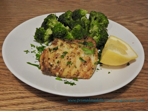 Baked Monkfish Fillet
