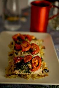 Baked Mediterranean MahiMahi, Primal Mediterranean Goourmet