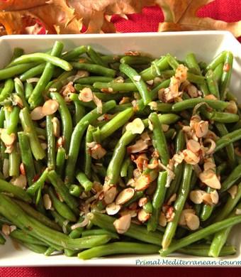 Green Beans Amandine