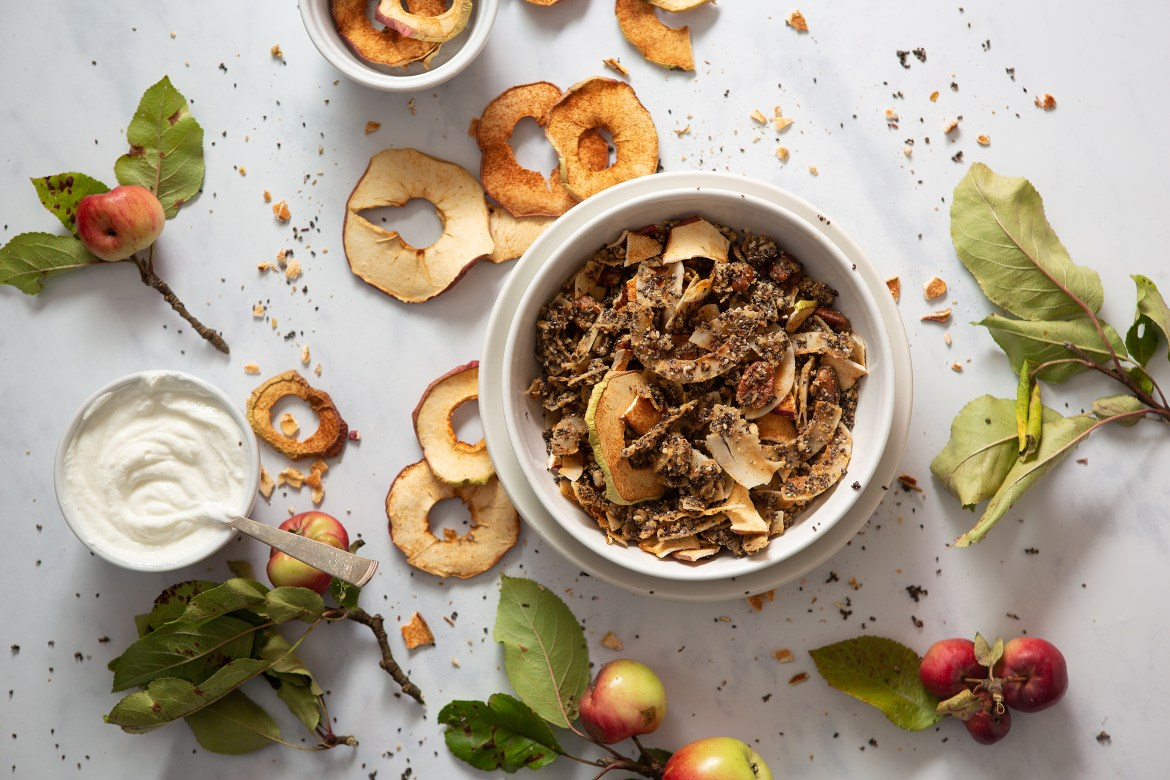 Paleo Apple Cinnamon Granola for Paleo Magazine - Stockholm, Sweden