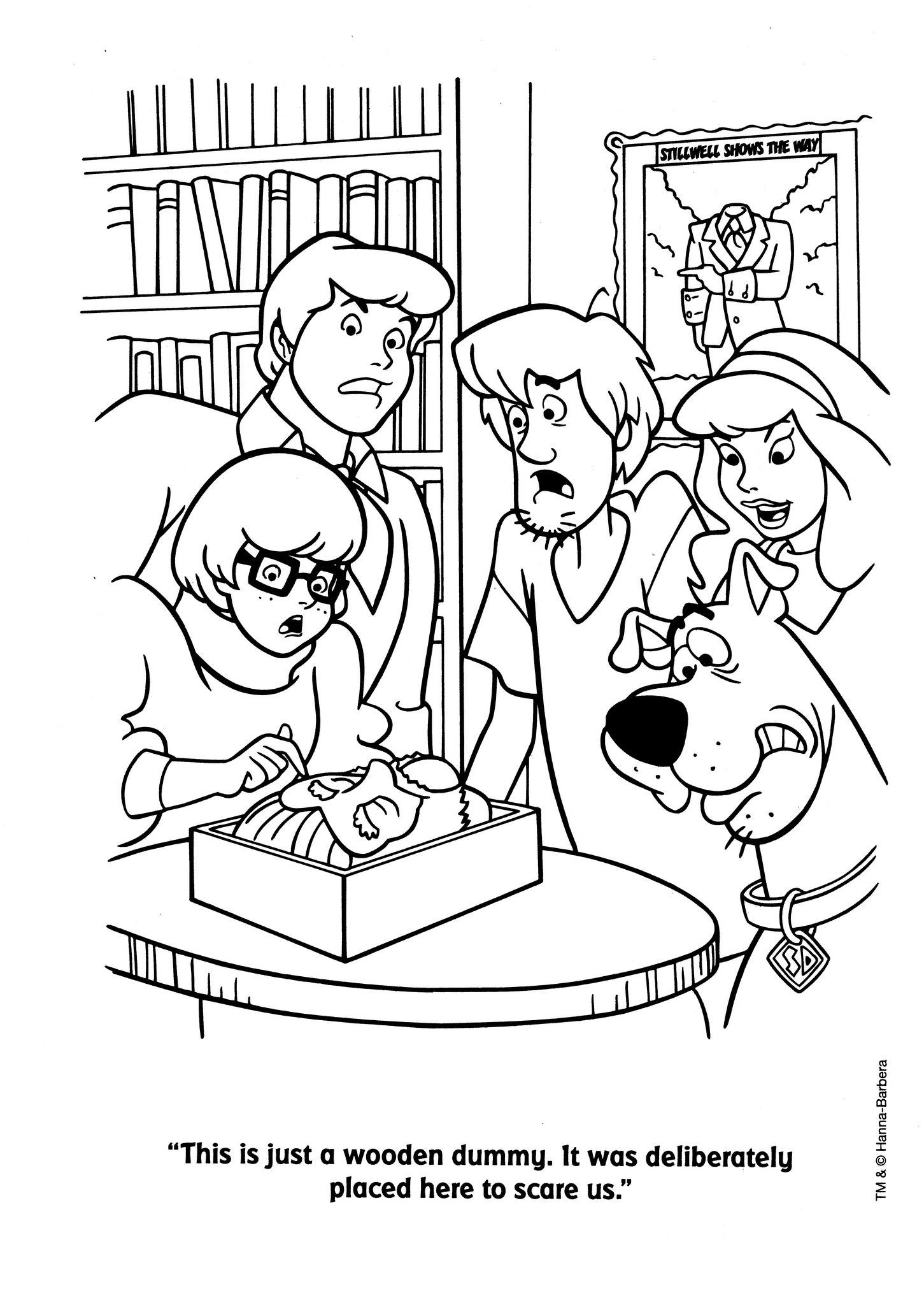 Scooby Doo A Colorier