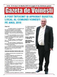 Gazeta de Voinesti nr. 12