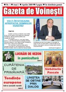 Gazeta de Voinesti nr.1