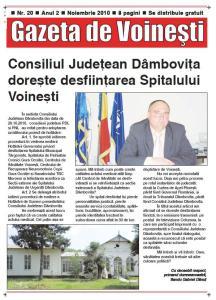 Gazeta de Voinesti nr. 20