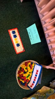 Compare Bears: patterns, colours and numeracy