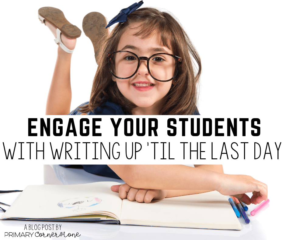 here are several things I have done over the years to make sure that my students are writing every single day and staying engaged in the process.