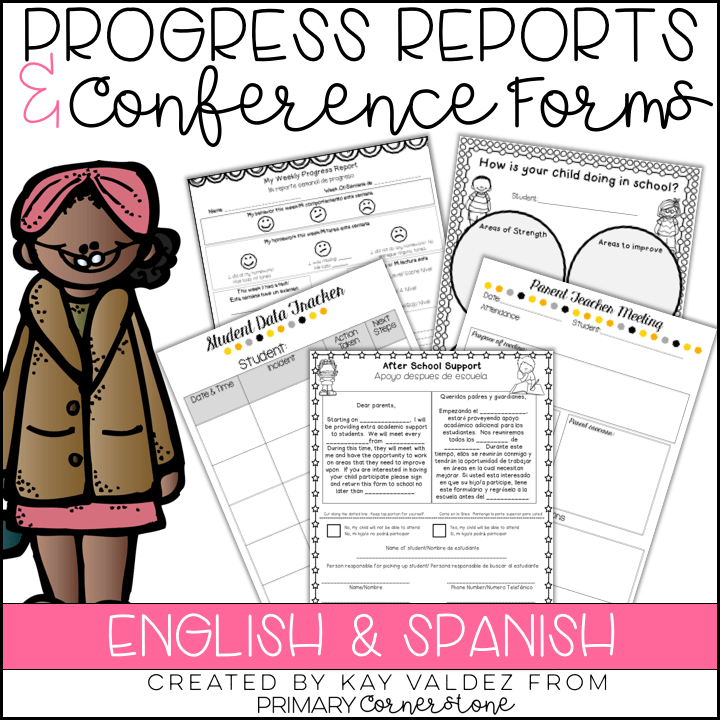 Progress Reports in English and Spanish