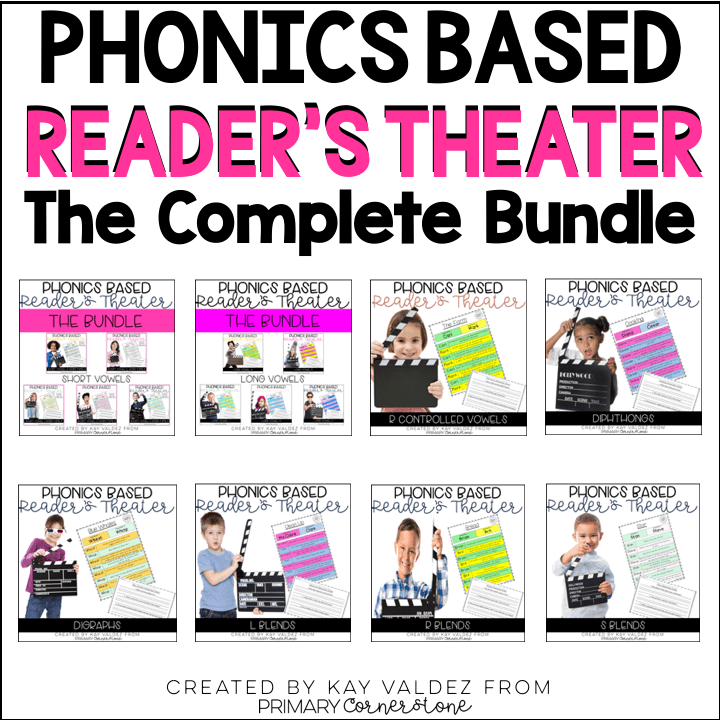 Phonics Based Reader's Theater