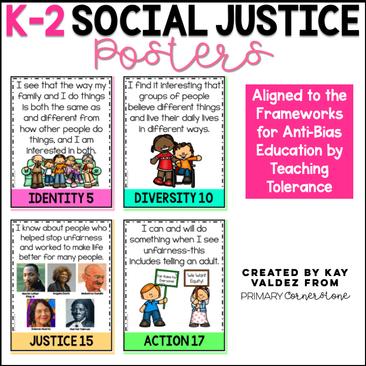 K-2 Social Justice Posters