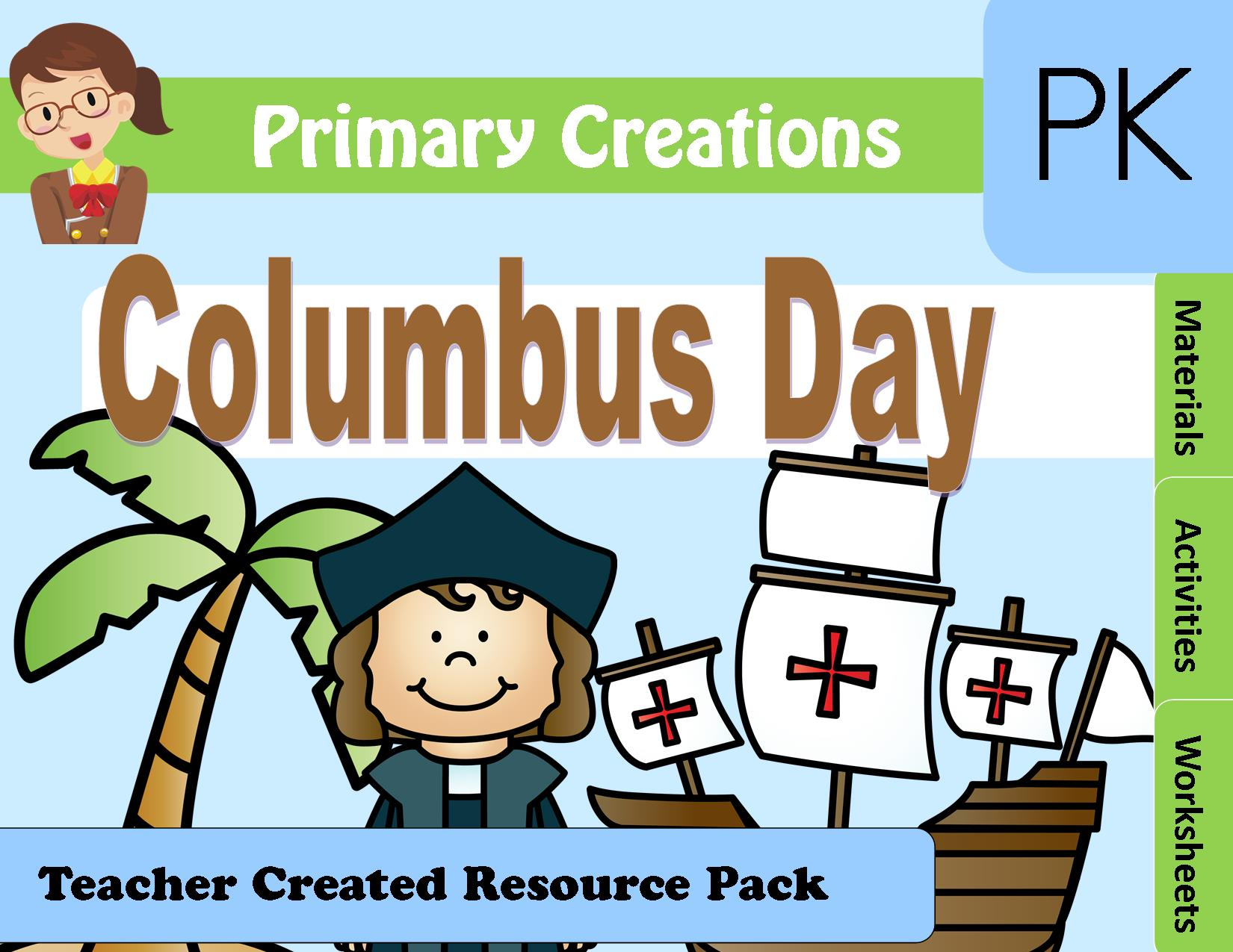 Christopher Columbus Preschool Pack