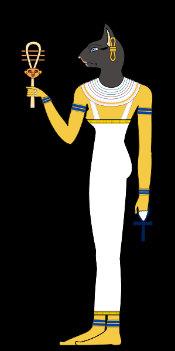 Image result for egyptian gods bastet