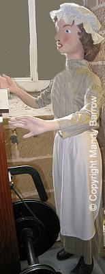 A Victorian girl