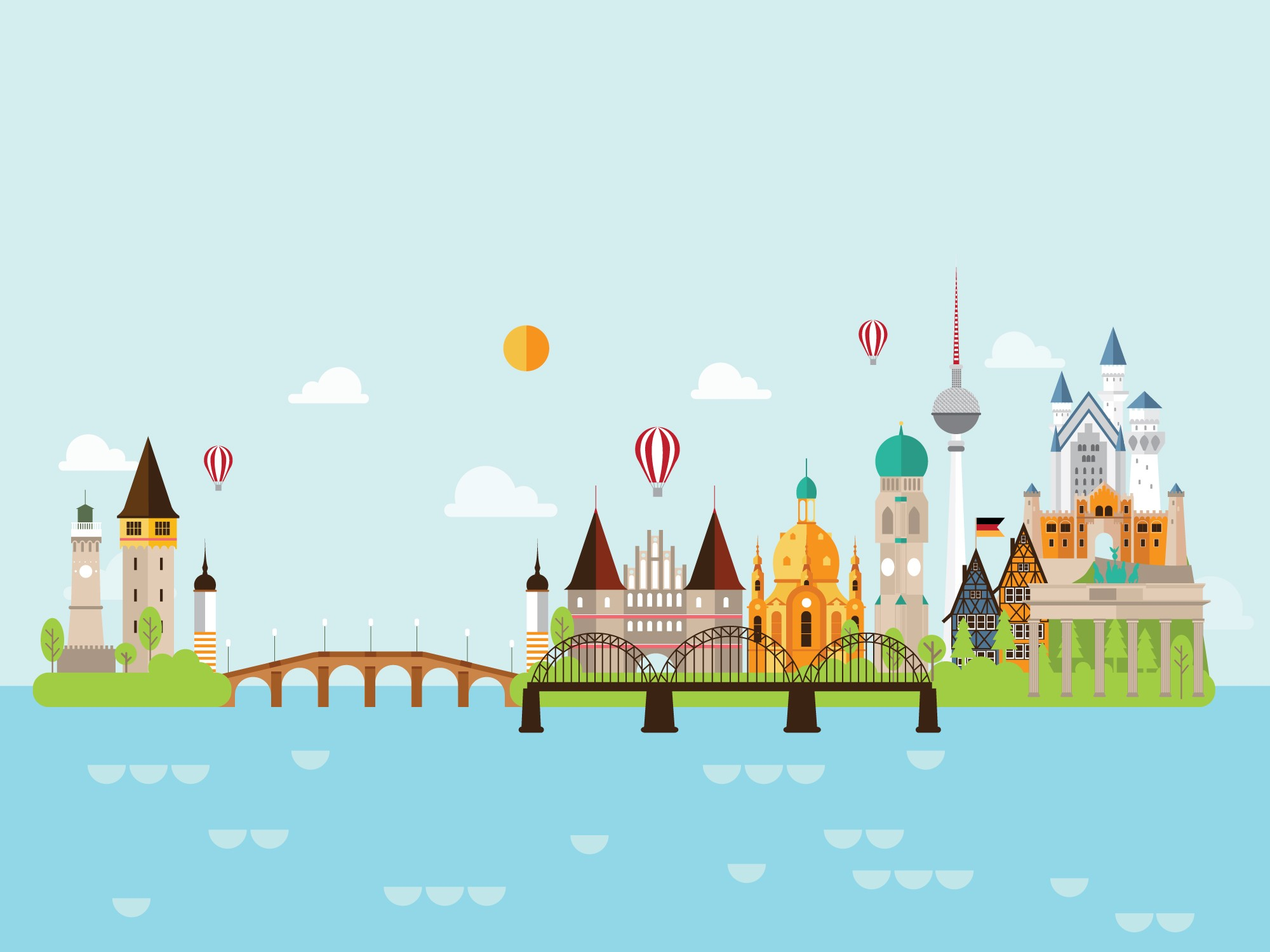Geography Germany Level 1 Activity For Kids