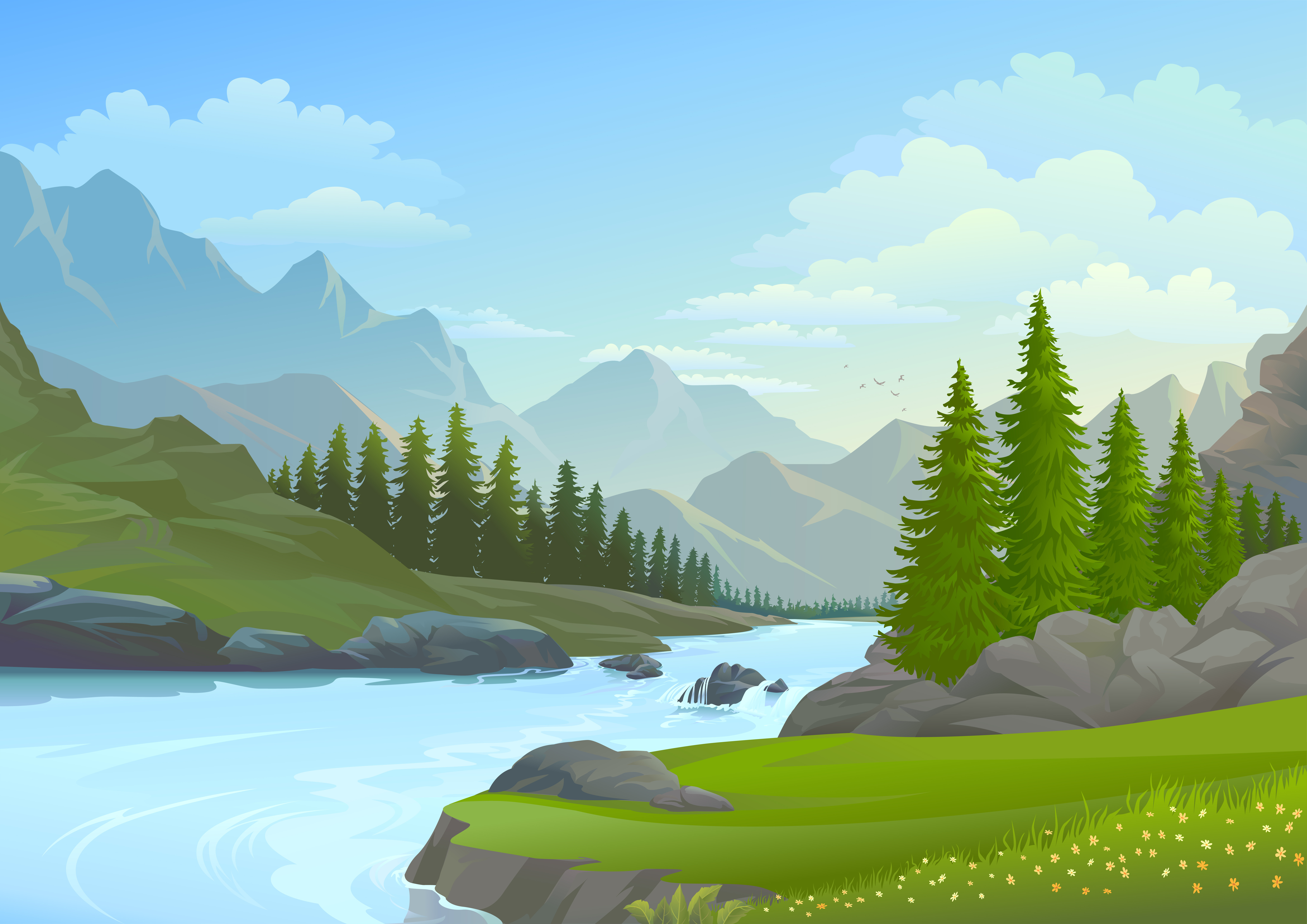 Geography What Is A River Level 1 Activity For Kids