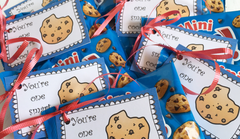 You're One Smart Cookie! Free Printable Tag