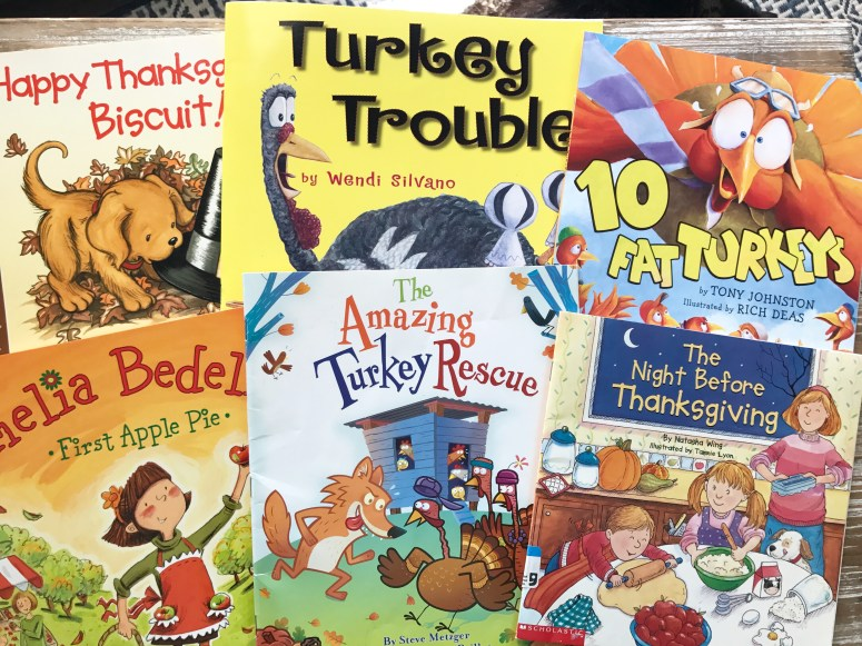 Teacher Approved Thanksgiving Books